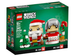 Lego Mr. and Mrs. Claus